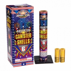 Assorted Canister Shells