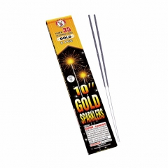 10 inch Gold Sparklers